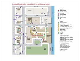 NYP/Weill Cornell Campus Map